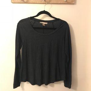 Forever 21 Black Long Sleeves Blouse